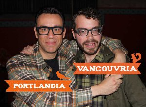 Fred Armisen and Scott Weidlich