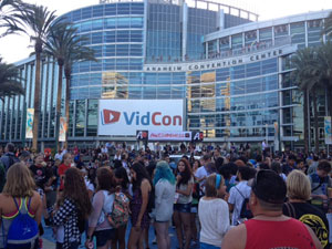 YouTubers at VidCon