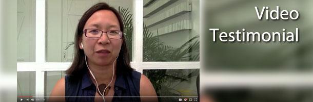 Client video testimonial