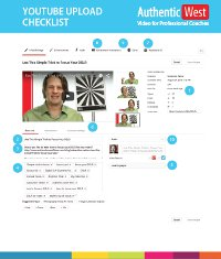 Button to download the checklist
